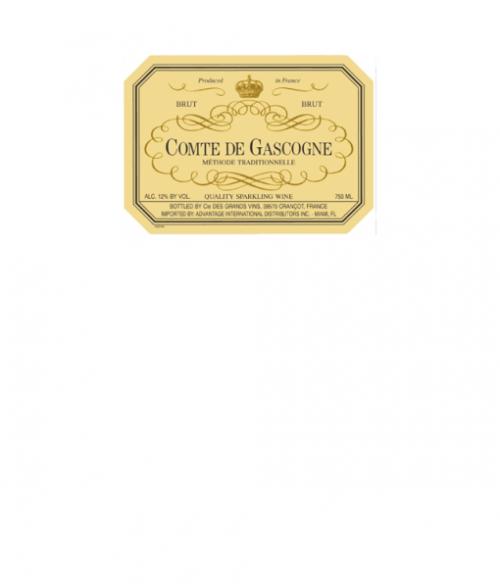 Comte De Gascogne Blanc De Blancs Brut NV