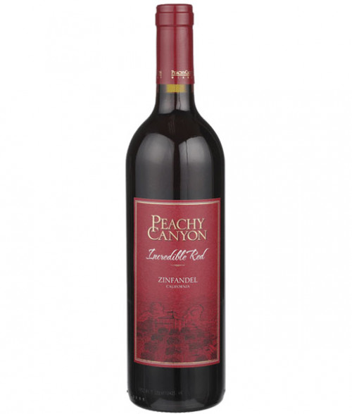 Peachy Canyon Incredible Zinfandel 750ml NV