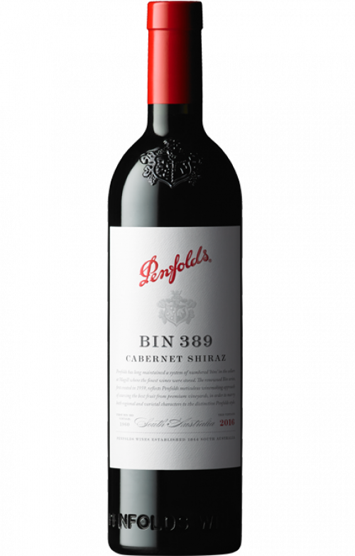 2016 Penfolds Bin 389 Cabernet/Shiraz 750ml