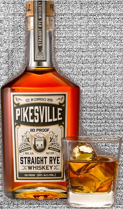 Pikesville Straight Rye 750ml