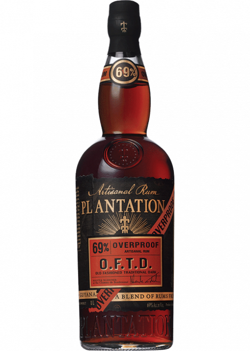 Plantation O.F.T.D. Overproof Rum 1L