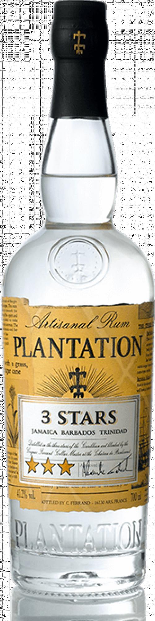 Plantation 3 Stars White Rum 1L