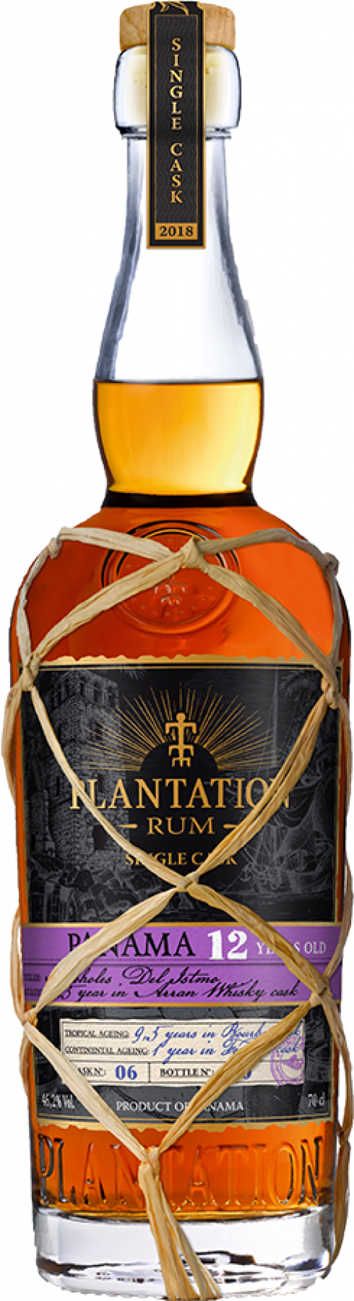 Plantation Single Cask 2018 Panama 12Yr Rum 750ml