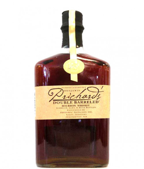 Prichards Double Barreled Bourbon 750Ml