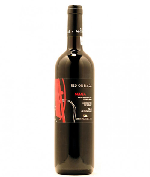 2018 Mitravela Red On Black Nemea 750ml