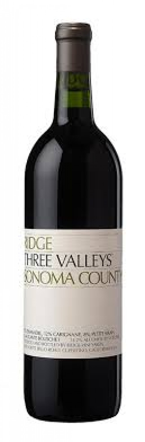 2017 Ridge Three Valleys 750ml