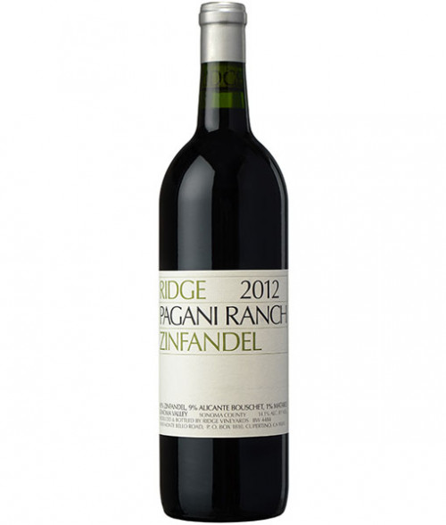 2017 Ridge Pagani Ranch Zinfandel 750Ml