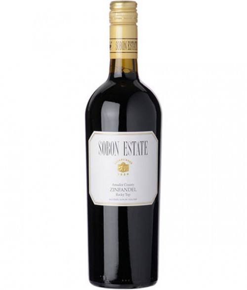 2015 Sobon Estate Rocky Top Zinfandel 750Ml