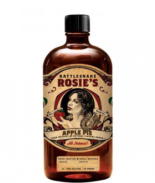 Rattlesnake Rosies Apple Pie 1L