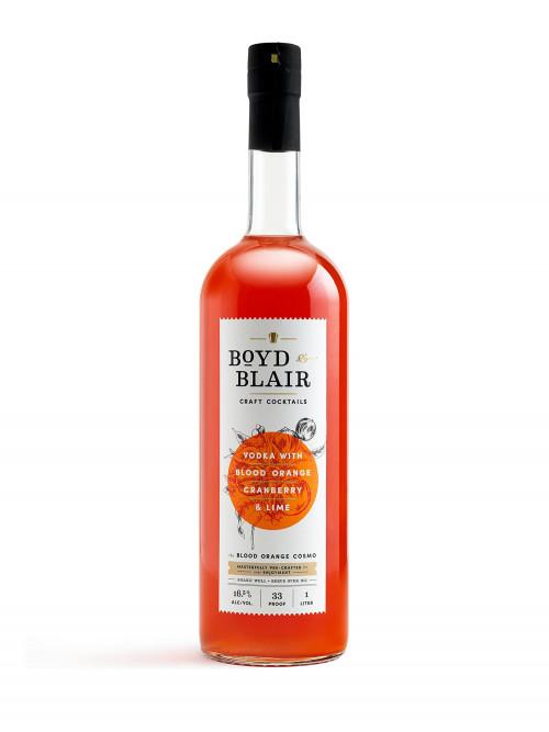 Boyd & Blair Blood Orange Cosmo Craft Cocktail 1L