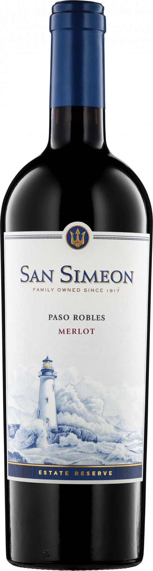 2017 San Simeon Paso Robles Merlot 750ml