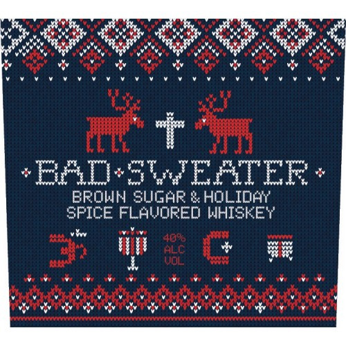 Savage & Cooke Bad Sweater Spiced Whiskey 750ml