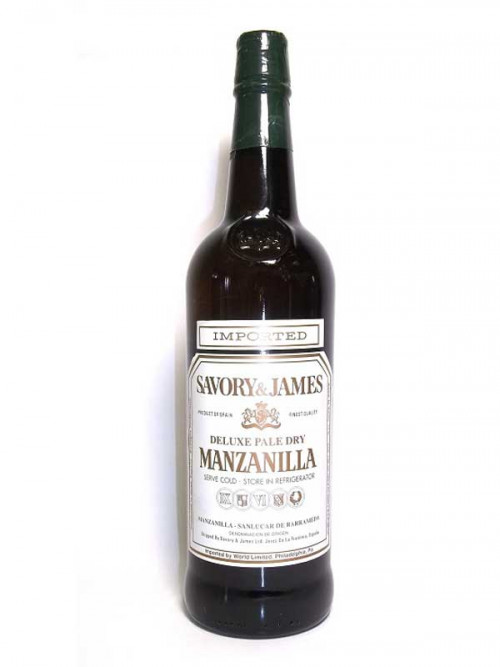 Savory & James Manzanilla Sherry 750Ml NV