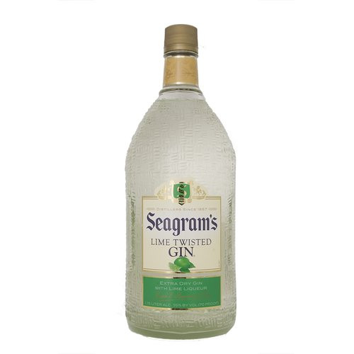 Seagrams Lime Gin 1.75L
