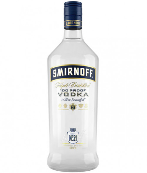 Smirnoff 100 Proof Vodka 1.75L