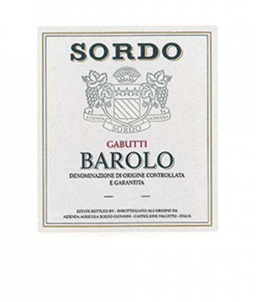 Sordo Barolo Gabutti 750Ml