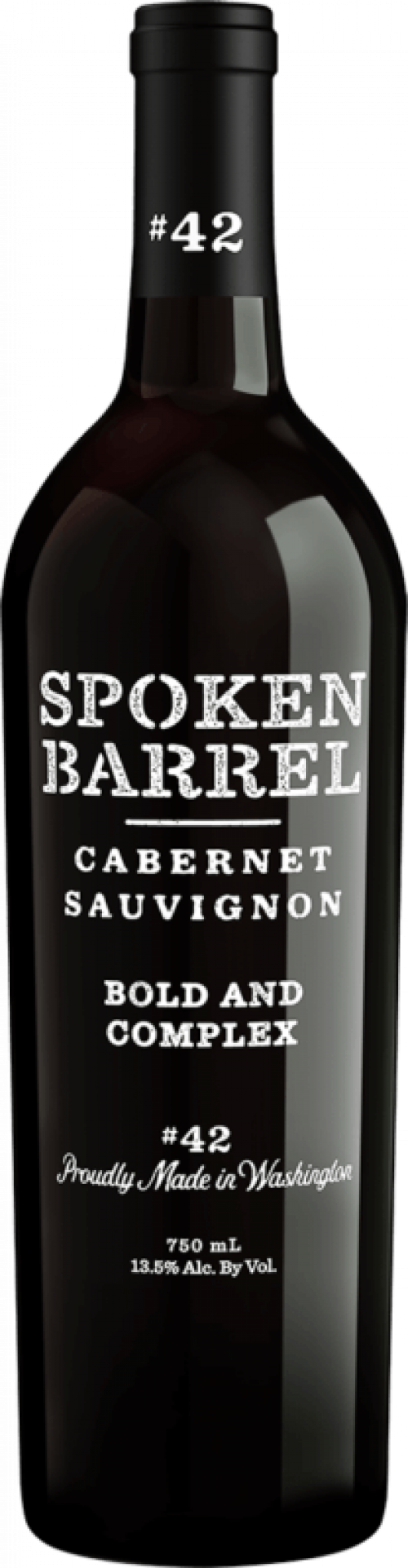 Spoken Barrel Cabernet Sauvignon 750ml