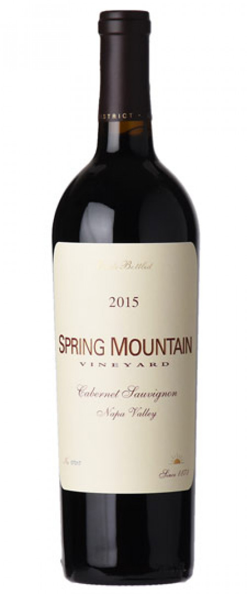 2015 Spring Mountain Vineyard Napa Cabernet Sauvignon 750Ml