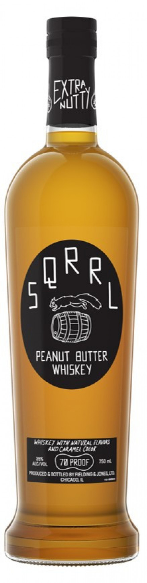 SQRRL Peanut Butter Whiskey 750ml