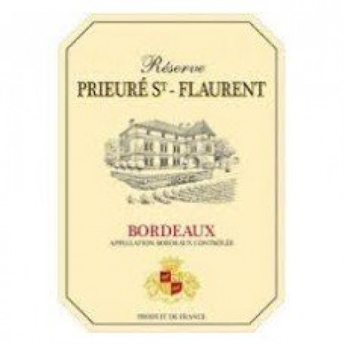 2018 Reserve Prieure St. Flaurent Red Bordeaux 750ml
