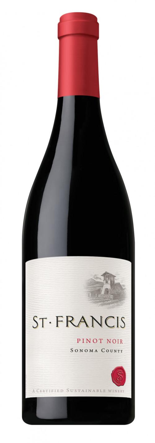 2018 St Francis Pinot Noir 750ml