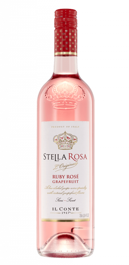 Stella Rosa Ruby Rose Grapefruit 750ml NV