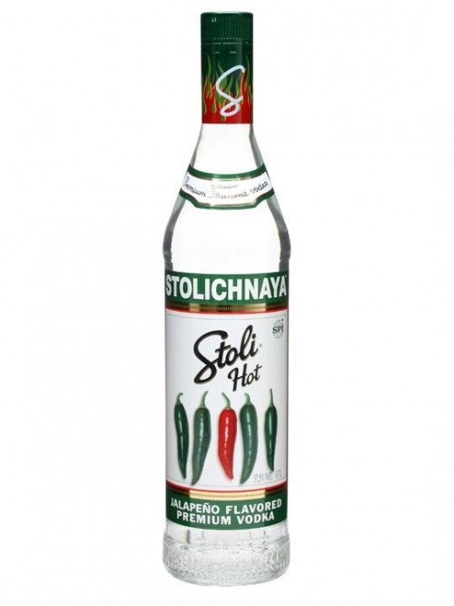 Stolichnaya Jalapeno Hot Vodka 1L
