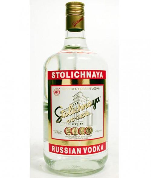Stolichnaya Vodka 80 Proof 1.75L