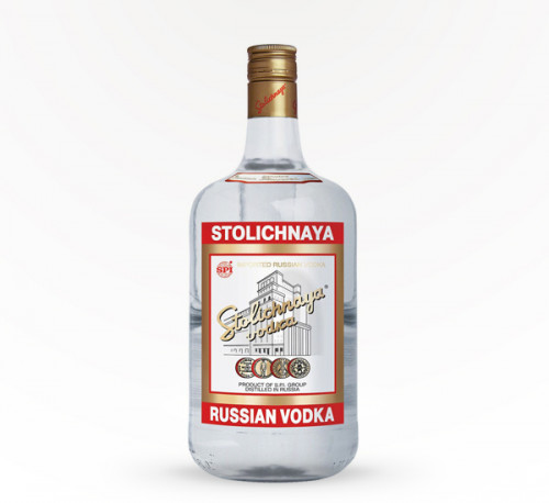 Stolichnaya Vodka 80 Proof 1.75L