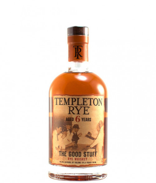 Templeton 6Yr Rye Whiskey 750ml