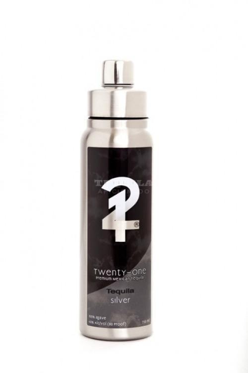 Twenty-One Silver Tequila 750ml