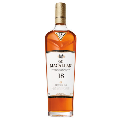 MaCallan 18Yr Shery Oak Casks Highland Single Malt 750ml