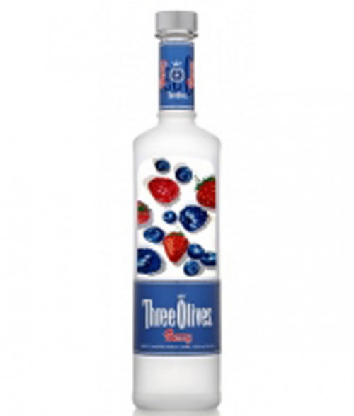 Three Olives Berry Vodka 1L