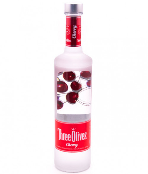 Three Olives Cherry Vodka 1L