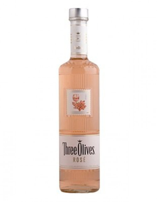 Three Olives Rose Vodka 1L