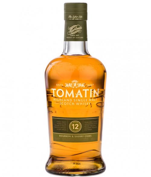 Tomatin 12Yr Highland Single Malt Scotch 750ml