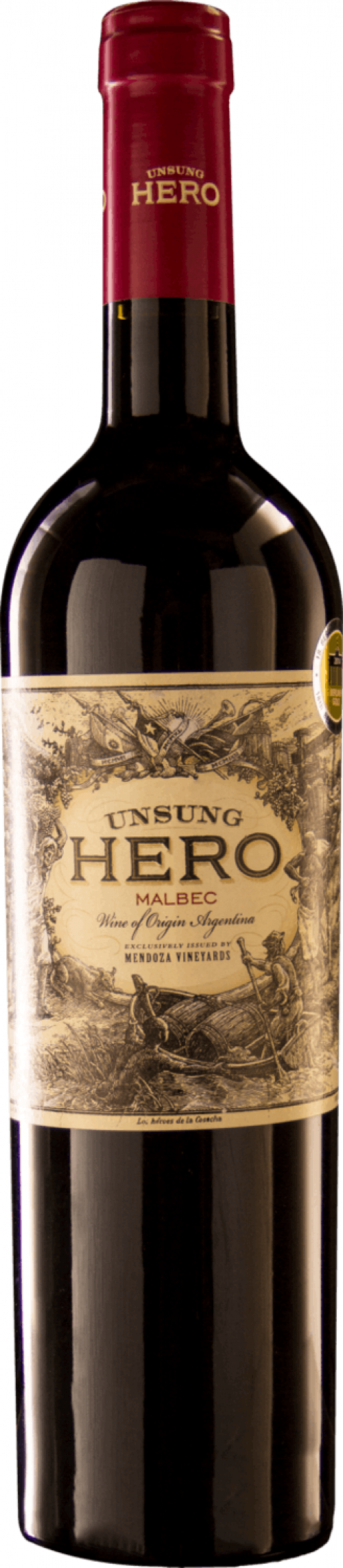 2018 Unsung Hero Malbec 750ml