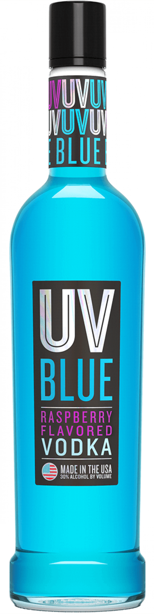 UV Blue Raspberry Vodka 1L