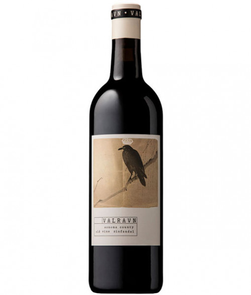 2017 Valravn Old Vine Zinfandel 750Ml