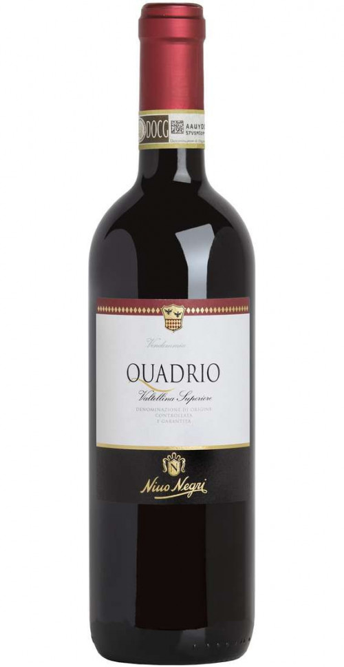 2016 Quadrio Valtellina Superiore DOCG750ML