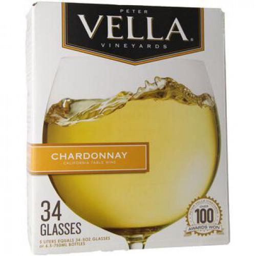 Peter Vella Chardonnay 5L Box