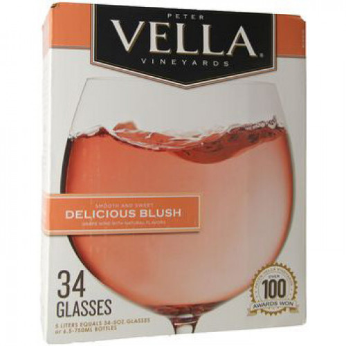 Peter Vella Delicious Blush 5L Box
