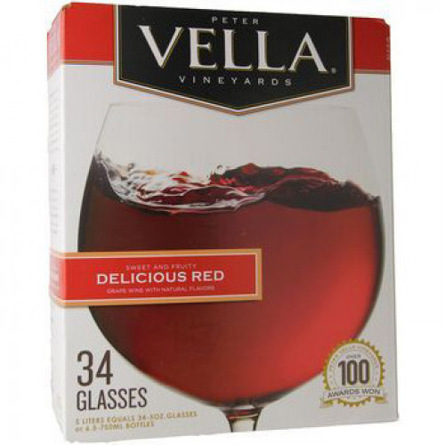 Peter Vella Delicious Red 5L Box