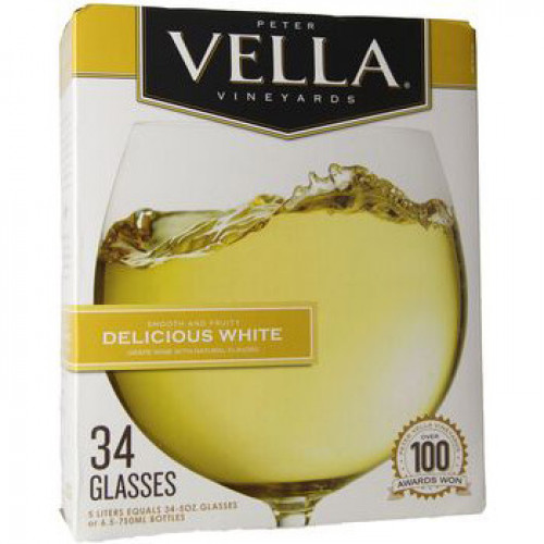 Peter Vella Crisp White 5L Box