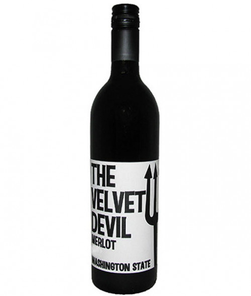 The Velvet Devil Merlot 750ml