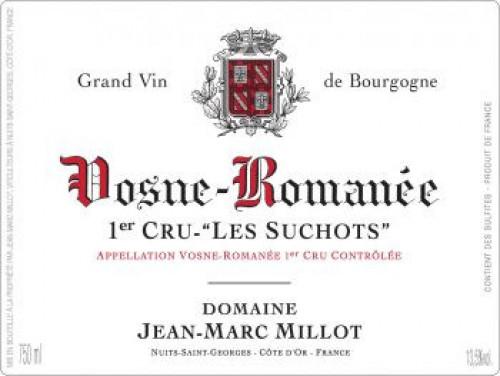 2017 Jean Marc Millot 1er Cru Vosne-Romanee Les Suchots 750ml