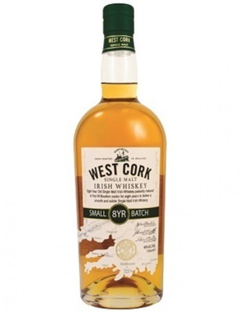 West Cork 8Yr Small Batch Irish Whiskey 750ml