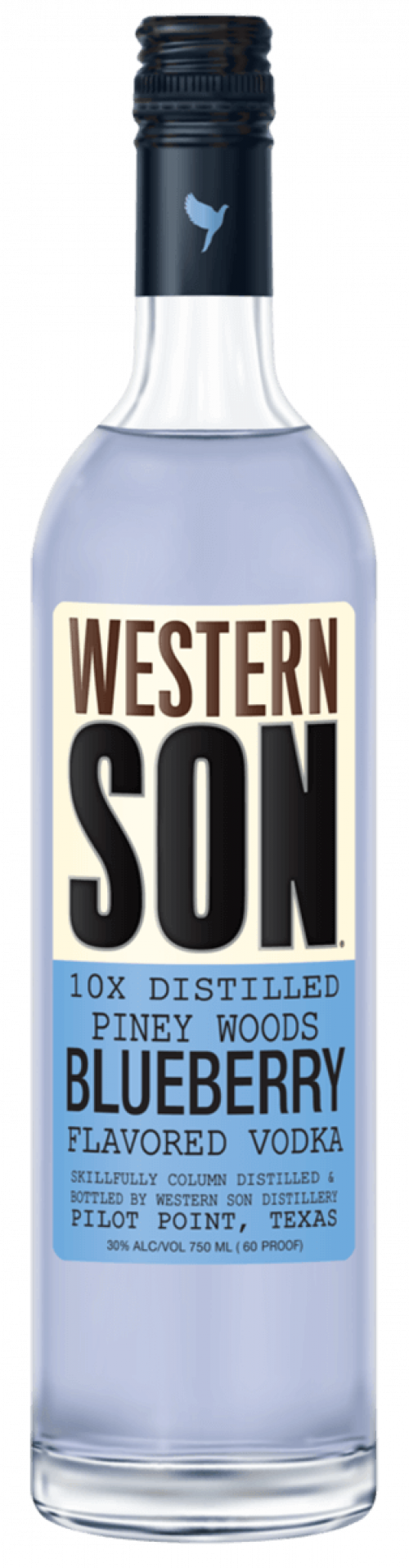 Western Son Blueberry Vodka 1L