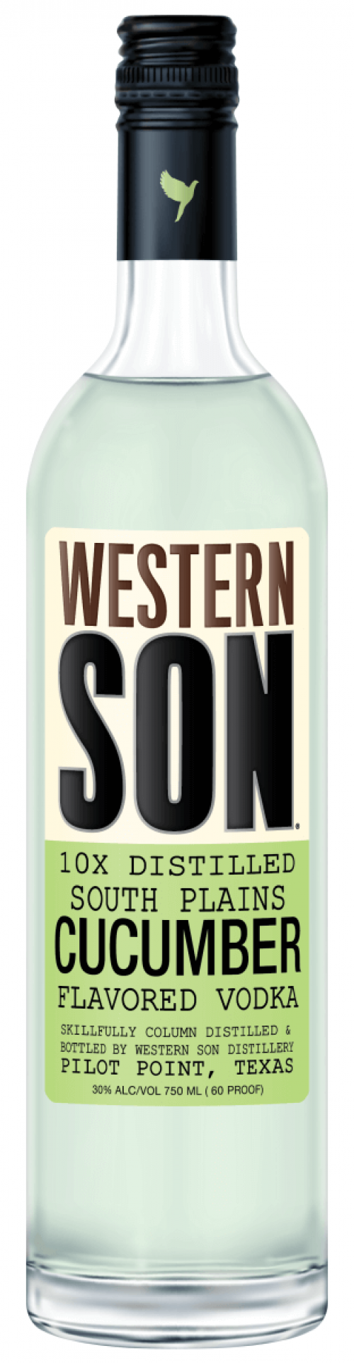 Western Son Cucumber Vodka 1L