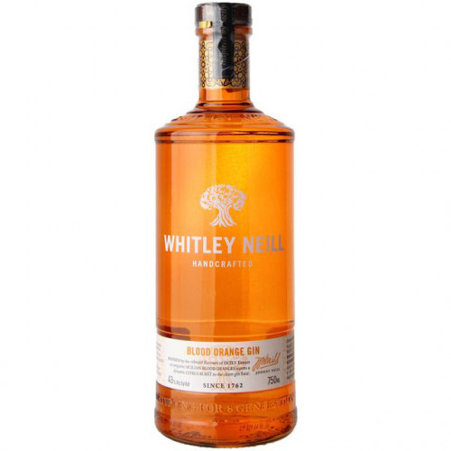 Whitley Neill Blood Orange Gin 750ml
